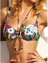 арт. Swimwear_FLOWER-POWER_40132  Бюстгальтер Cheek by Lisca